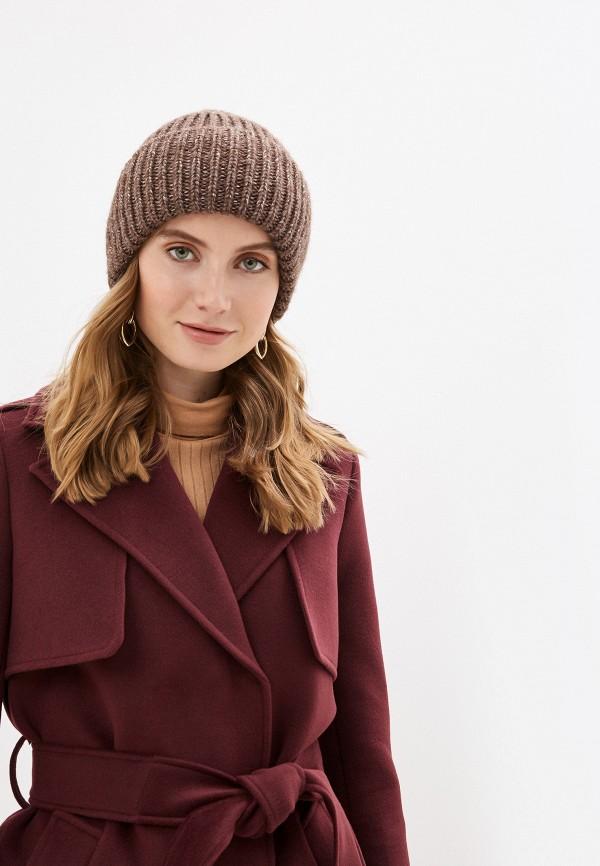 Regarzo   коричневый Женская зимняя коричневая шапка Regarzo   Clouty