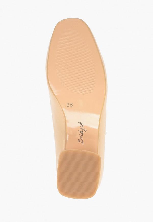 Bridget | бежевый Женские бежевые туфли Bridget резина | Clouty