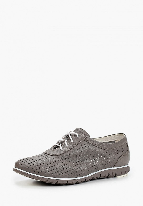 Thomas Munz | коричневый Женские коричневые ботинки Thomas Munz термоэластопласт | Clouty