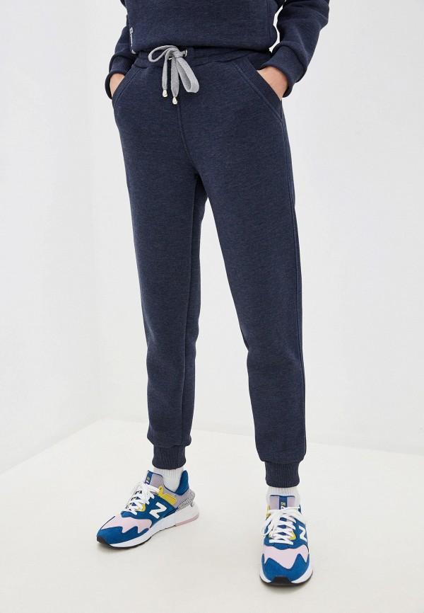 Ducky Style   синий Женские синие спортивные брюки Ducky Style   Clouty