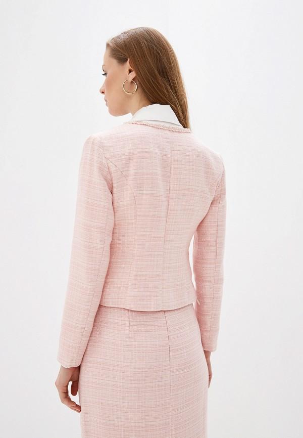 Emilia Dell'oro | Женский розовый жакет Emilia Dell'oro | Clouty