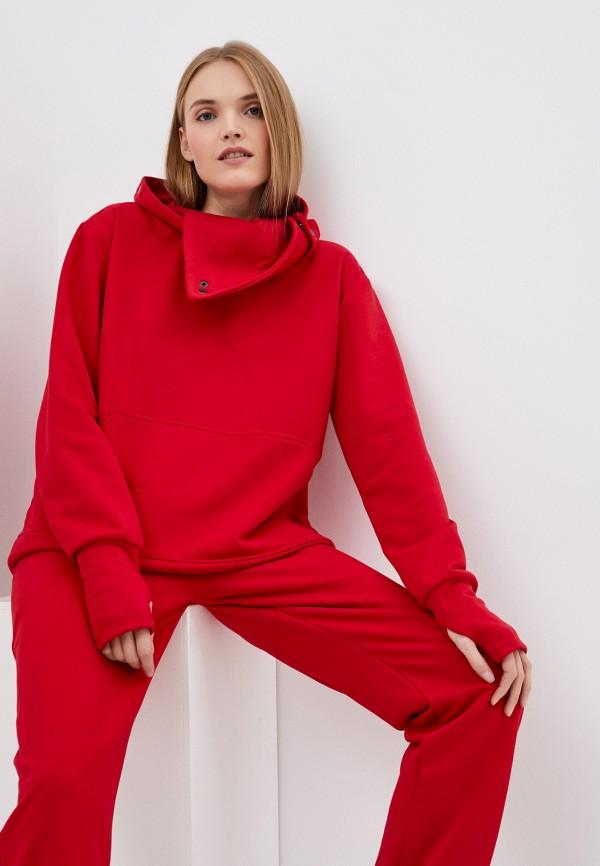 Malaeva | Женский красный костюм спортивный Malaeva | Clouty