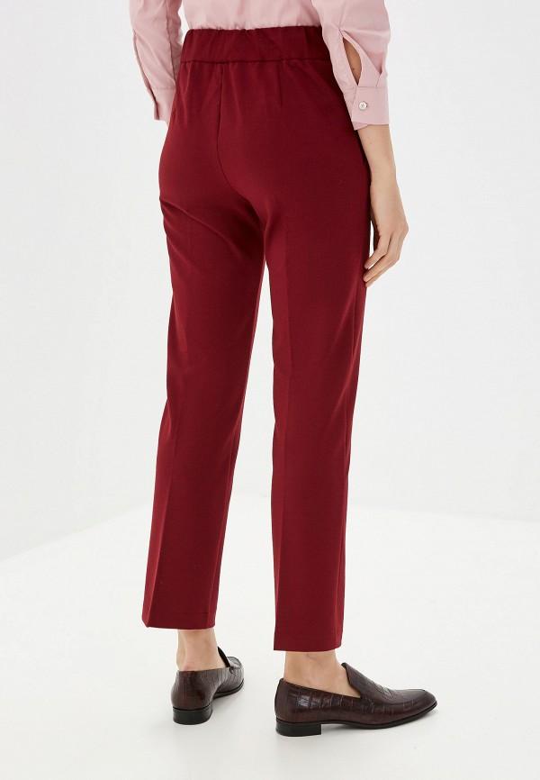 Jackie Smart | бордовый Женские бордовые брюки Jackie Smart | Clouty