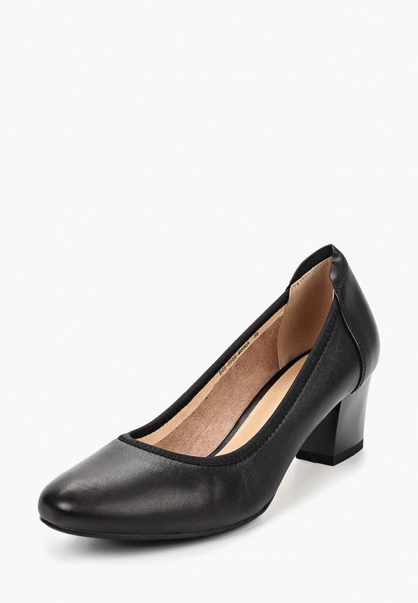 Berkonty | черный Женские черные туфли Berkonty термополиуретан | Clouty
