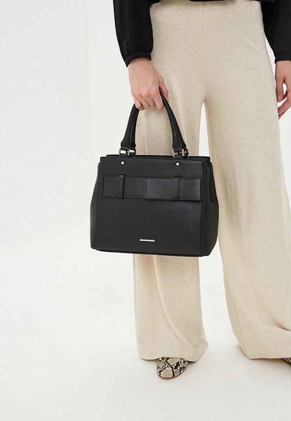 Delgamo | черный Женская черная сумка Delgamo | Clouty