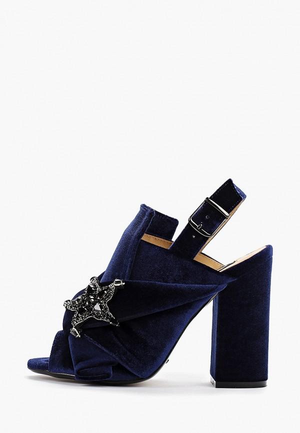 Graciana | синий Женские летние синие босоножки Graciana искусственный материал | Clouty