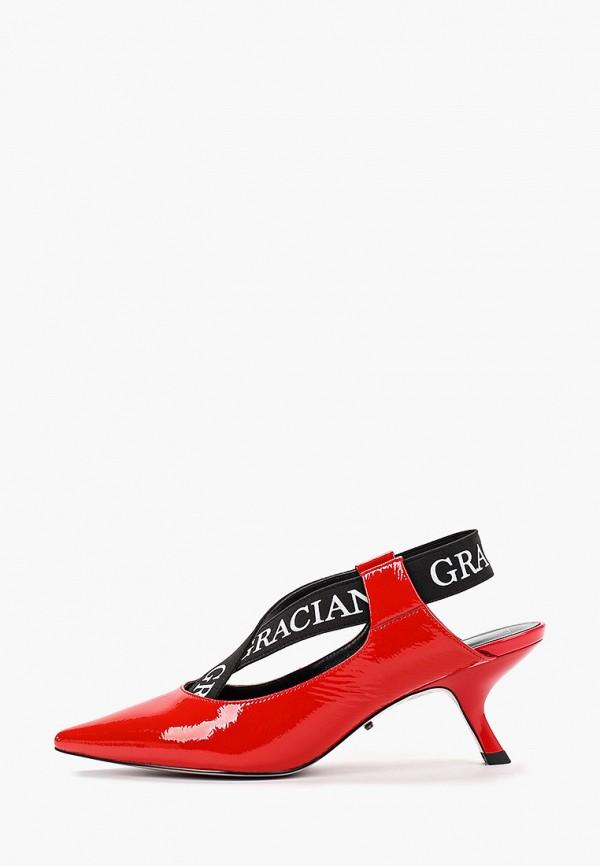 Graciana | красный Красные туфли Graciana Тунит | Clouty