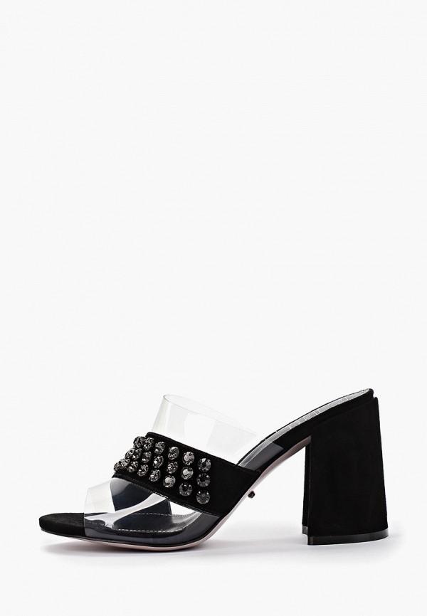 Graciana | черный Женские летние черные сабо Graciana Тунит | Clouty