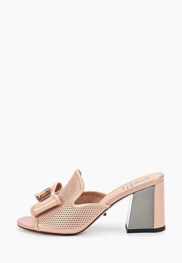 Graciana | розовый Женские летние розовые сабо Graciana Тунит | Clouty
