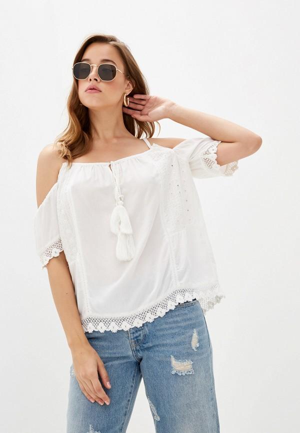 Top Secret | белый Белая блуза Top Secret | Clouty