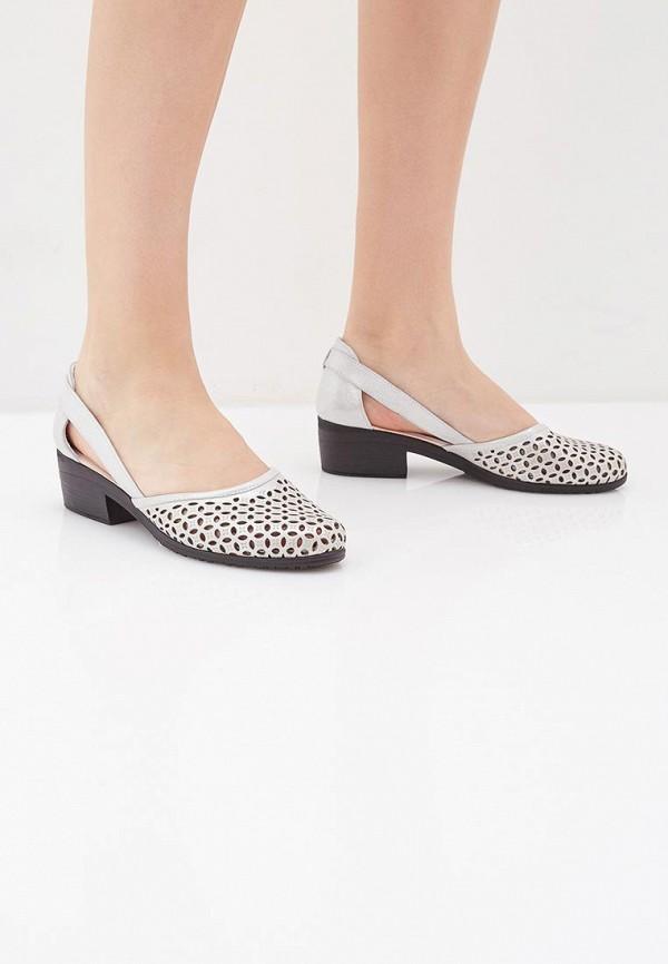 Clovis | серый Серые туфли Clovis искусственный материал | Clouty