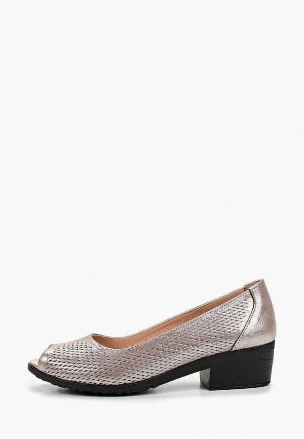 Clovis | серый Женские серые туфли Clovis искусственный материал | Clouty