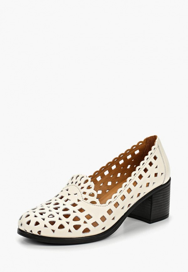 Clovis   белый Женские белые туфли Clovis искусственный материал   Clouty