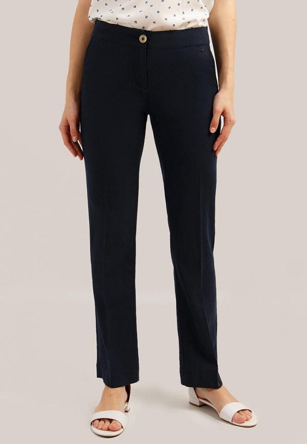 Finn Flare | синий Женские синие брюки Finn Flare | Clouty