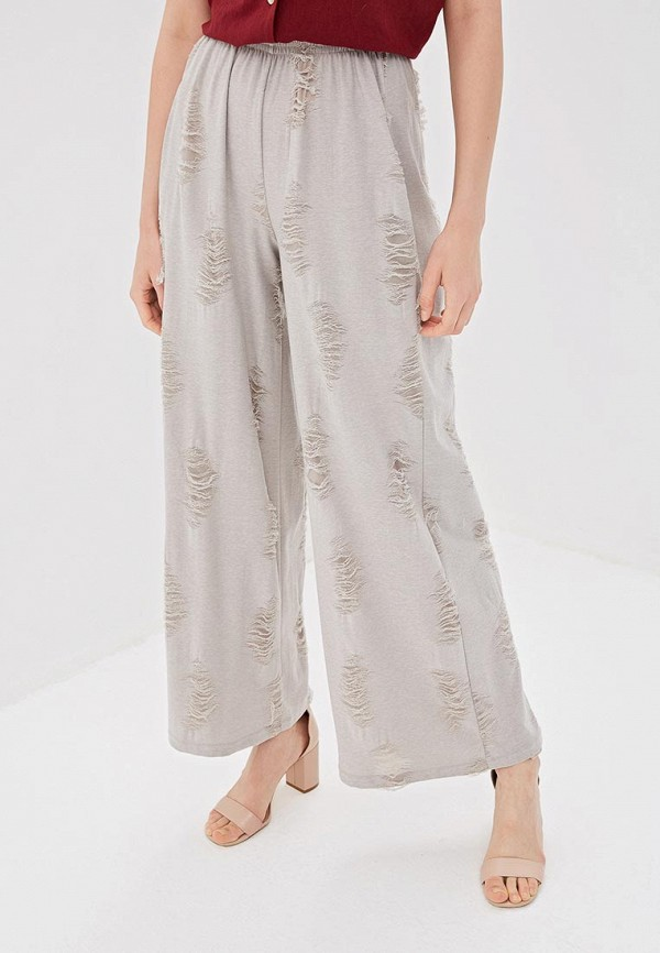 Мадам Т | серый Женские серые брюки Мадам Т | Clouty