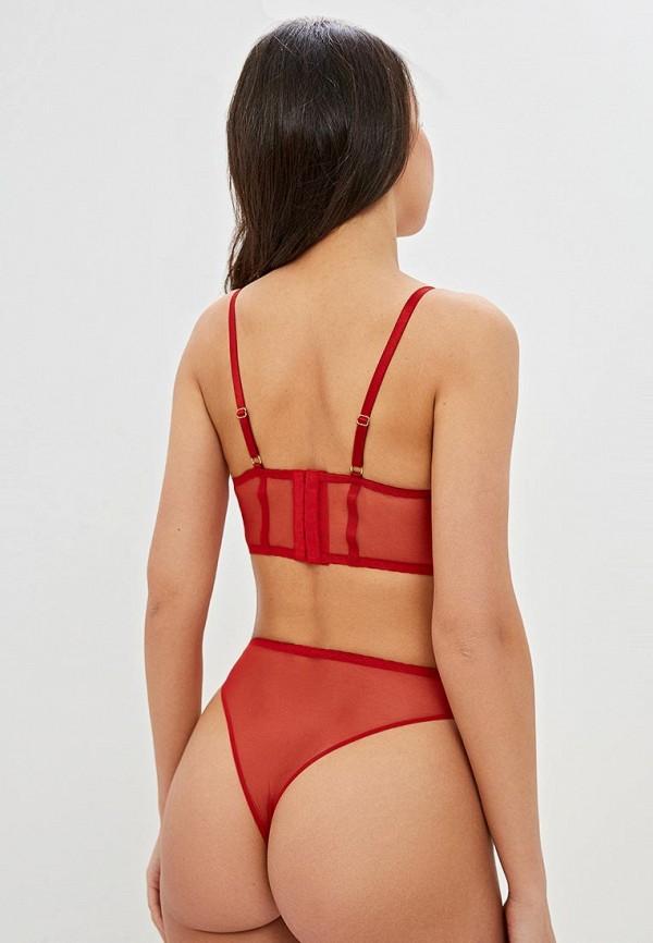 LA DEA lingerie & homewear   Красный бюстгальтер LA DEA lingerie & homewear   Clouty
