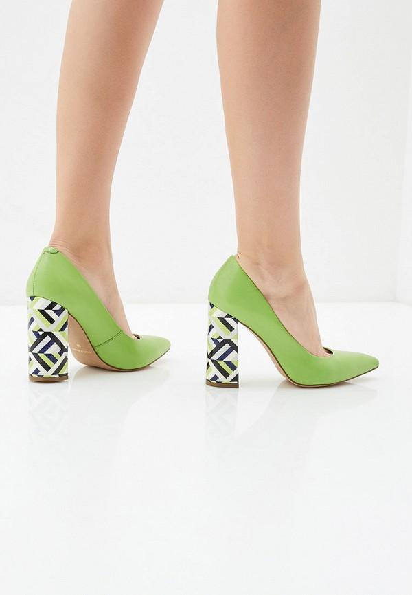 Indiana | зеленый Женские зеленые туфли Indiana Тунит | Clouty