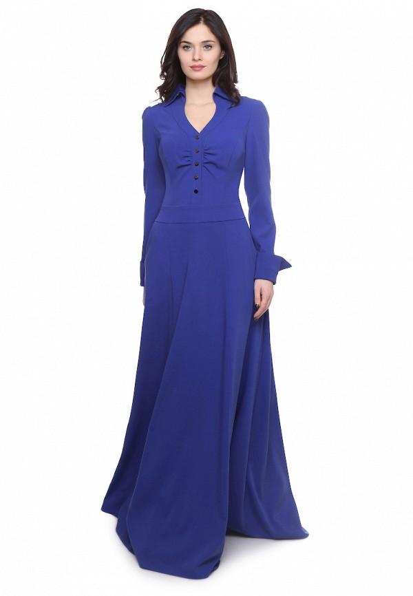 Olivegrey | синий Женское синее платье Olivegrey | Clouty