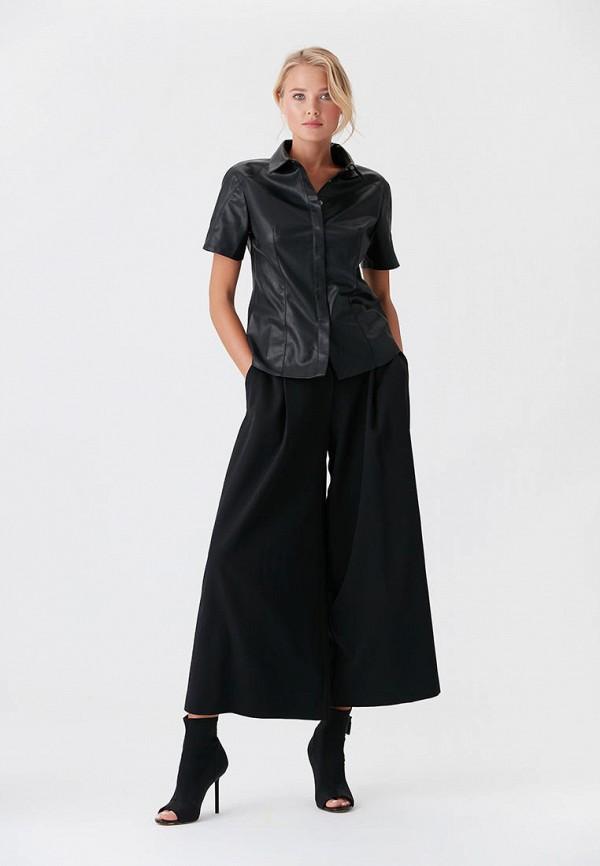 LOVE REPUBLIC   черный Женские черные брюки LOVE REPUBLIC   Clouty