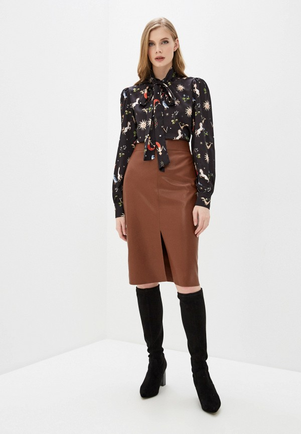 Fashion.Love.Story | черный Женская черная блуза Fashion.Love.Story | Clouty
