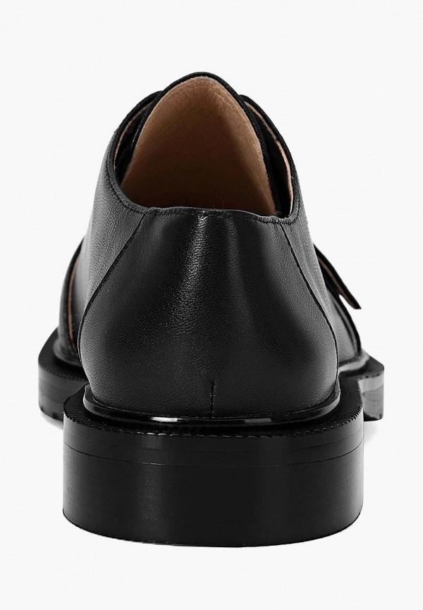 Portal | черный Женские черные ботинки Portal резина | Clouty