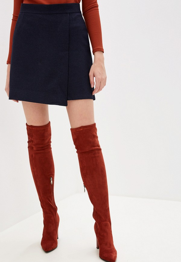 Fashion.Love.Story | синий Синяя юбка шорты Fashion.Love.Story | Clouty