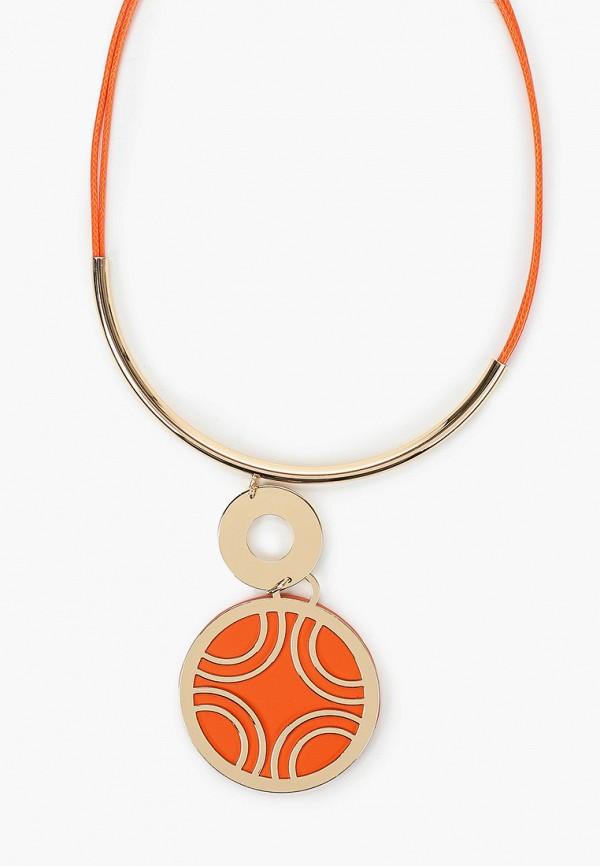 Bradex   оранжевый, золотой Женское колье Bradex   Clouty