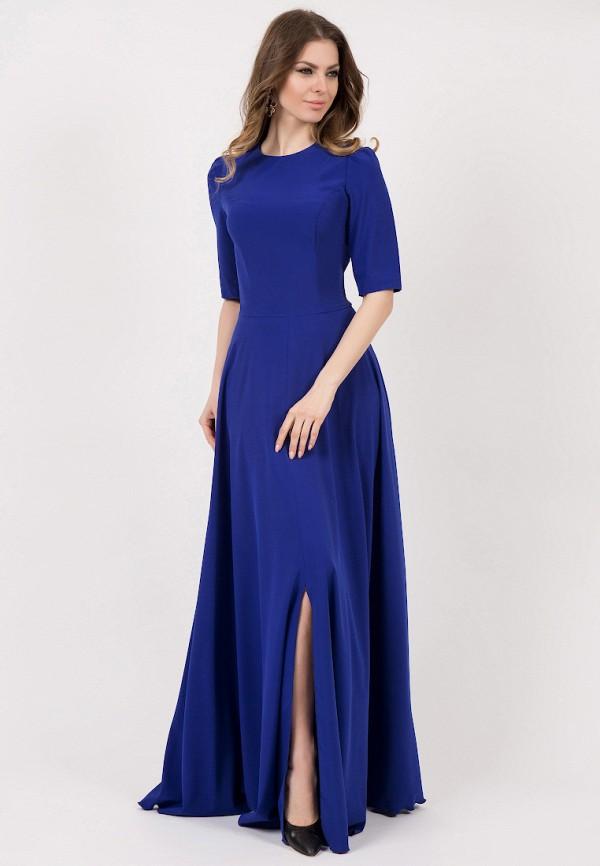 Olivegrey | синий Синее платье Olivegrey | Clouty