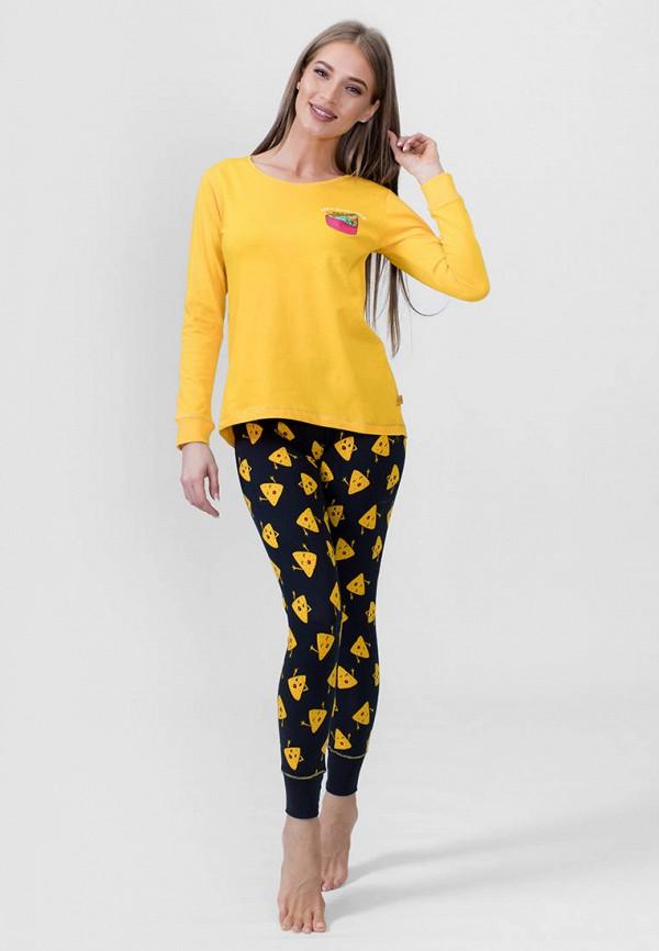 Vienetta | желтый, черный Женский домашний костюм Vienetta | Clouty