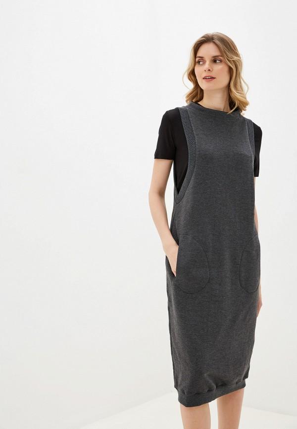 Alpecora   серый Платье Alpecora   Clouty