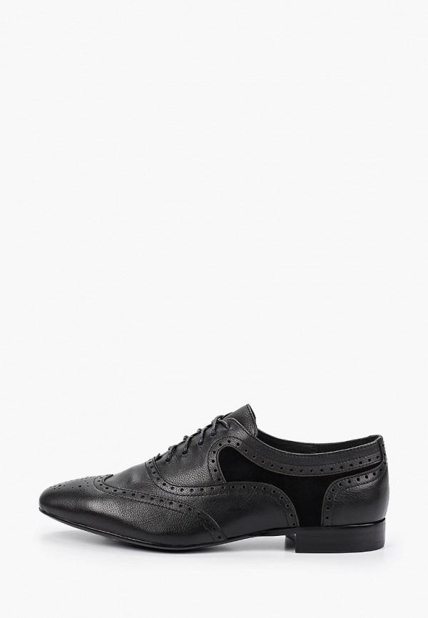 Thomas Munz | черный Женские черные ботинки Thomas Munz резина | Clouty