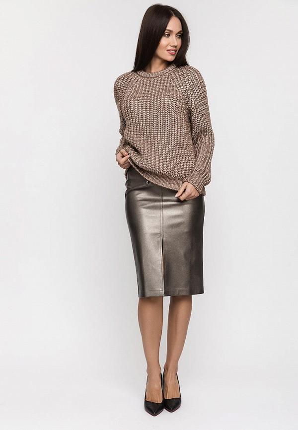 Gloss | серебряный Серебряная юбка Gloss | Clouty