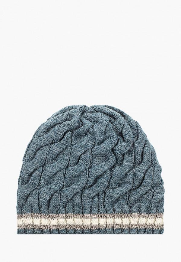 D'Freeze   голубой Женская зимняя голубая шапка D'Freeze   Clouty