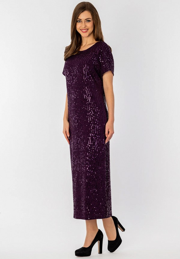 S&A Style | фиолетовый Фиолетовое платье S&A Style | Clouty