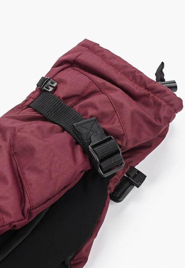 Trespass | бордовый Женские зимние бордовые горнолыжные перчатки Trespass | Clouty
