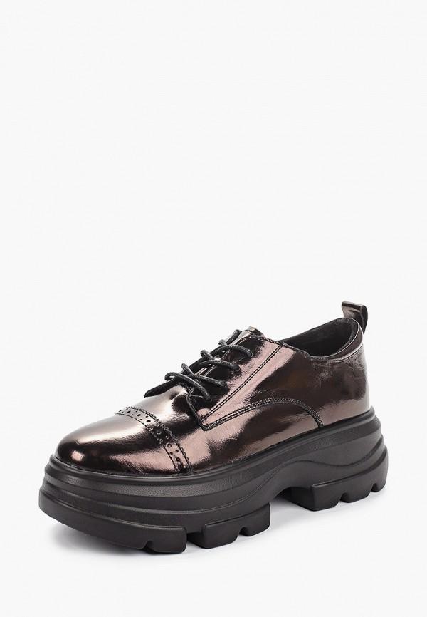 Sprincway | коричневый Женские коричневые ботинки Sprincway полиуретан | Clouty