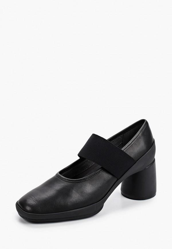 Camper   черный Черные туфли Camper полиуретан   Clouty