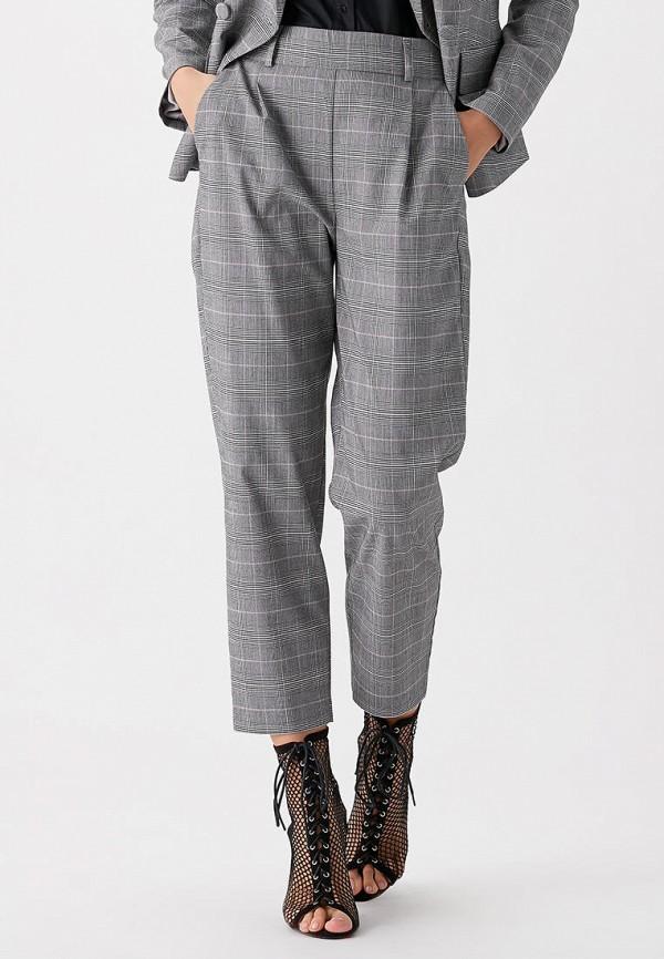 LOVE REPUBLIC | серый Женские серые брюки LOVE REPUBLIC | Clouty