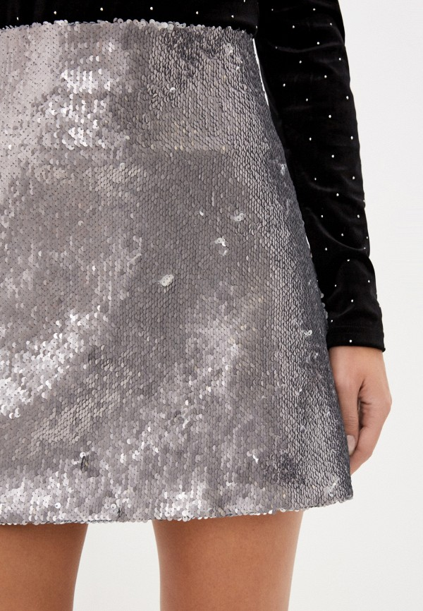 Fashion.Love.Story | серебряный Серебряная юбка Fashion.Love.Story | Clouty