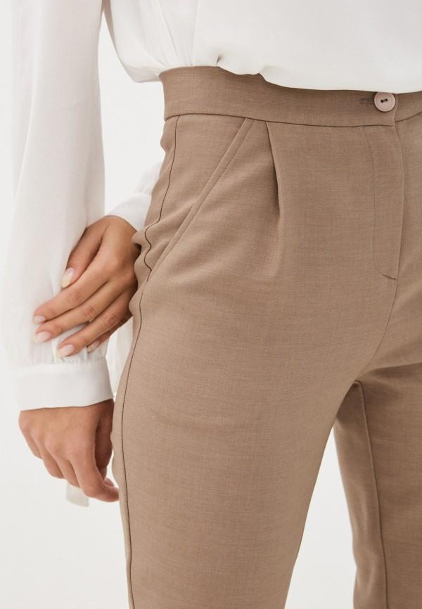 Fashion.Love.Story | бежевый Женские бежевые брюки Fashion.Love.Story | Clouty