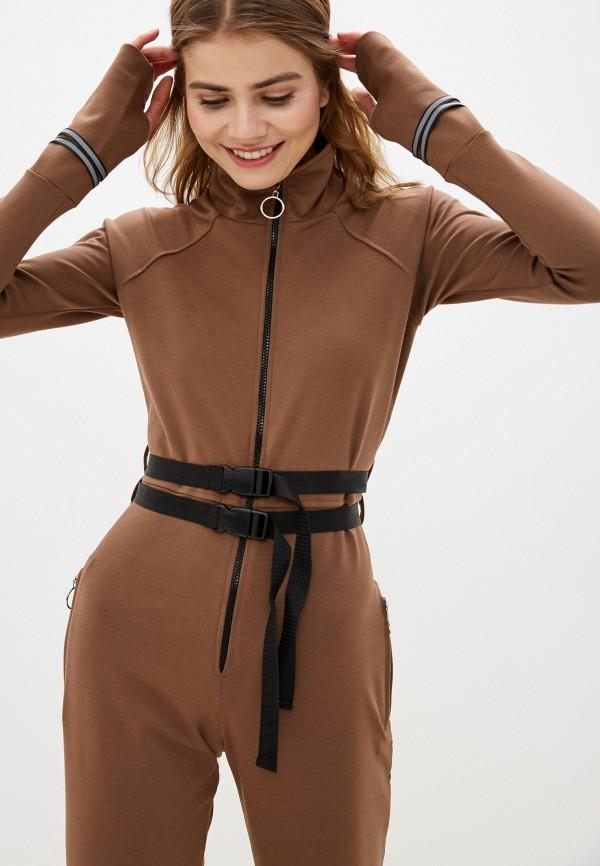 Malaeva | коричневый Комбинезон Malaeva | Clouty