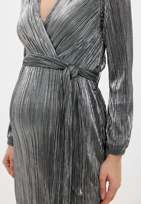 Budumamoy | серебряный Серебряное платье Budumamoy | Clouty