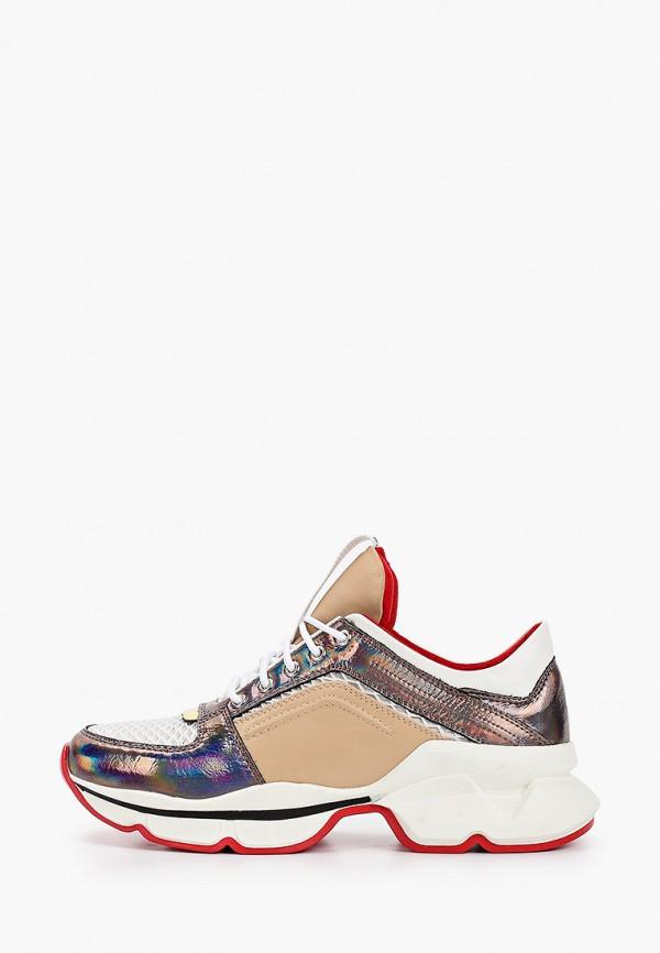 Pierre Cardin | мультиколор Женские кроссовки Pierre Cardin термопластиковая резина | Clouty