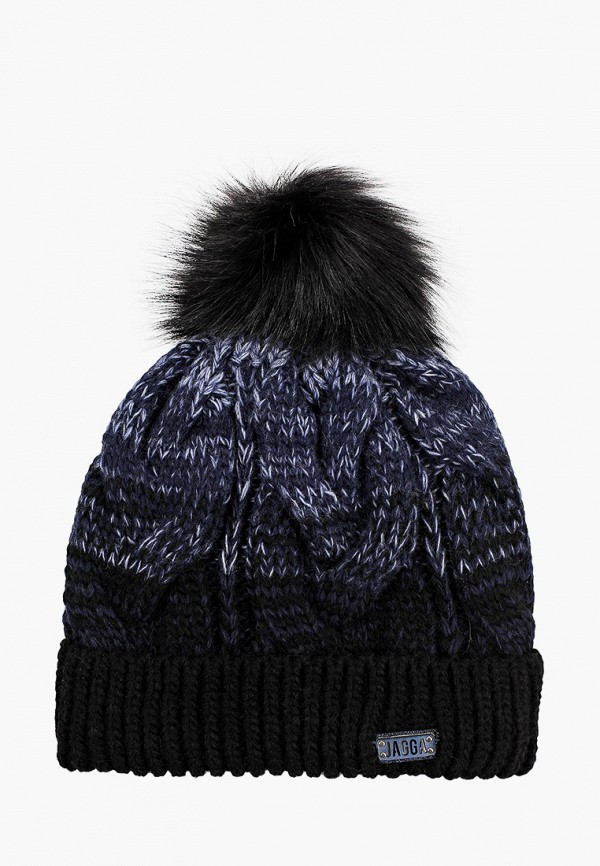 Jagga | синий Женская зимняя синяя шапка Jagga | Clouty