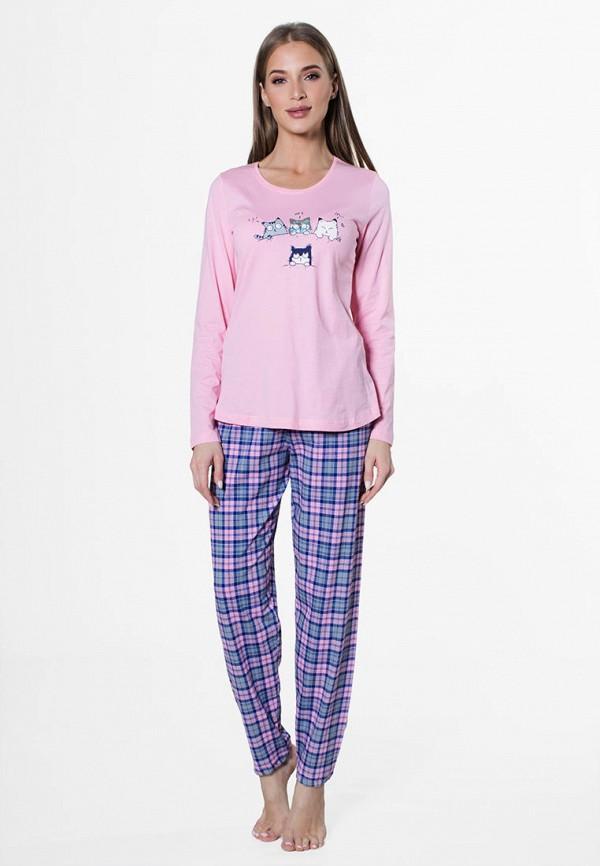 Vienetta | мультиколор, розовый Женский домашний костюм Vienetta | Clouty