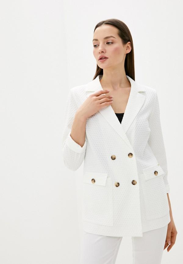 Helmidge | Женский белый пиджак Helmidge | Clouty