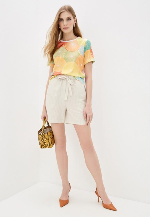 Fashion.Love.Story | мультиколор Женская футболка Fashion.Love.Story | Clouty