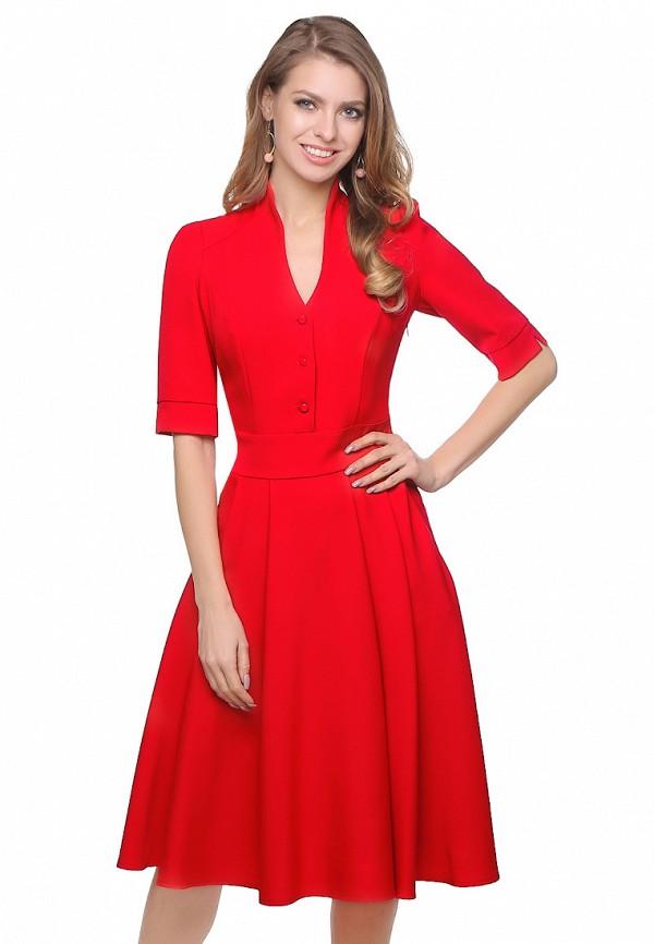 Olivegrey | красный Женское красное платье Olivegrey | Clouty