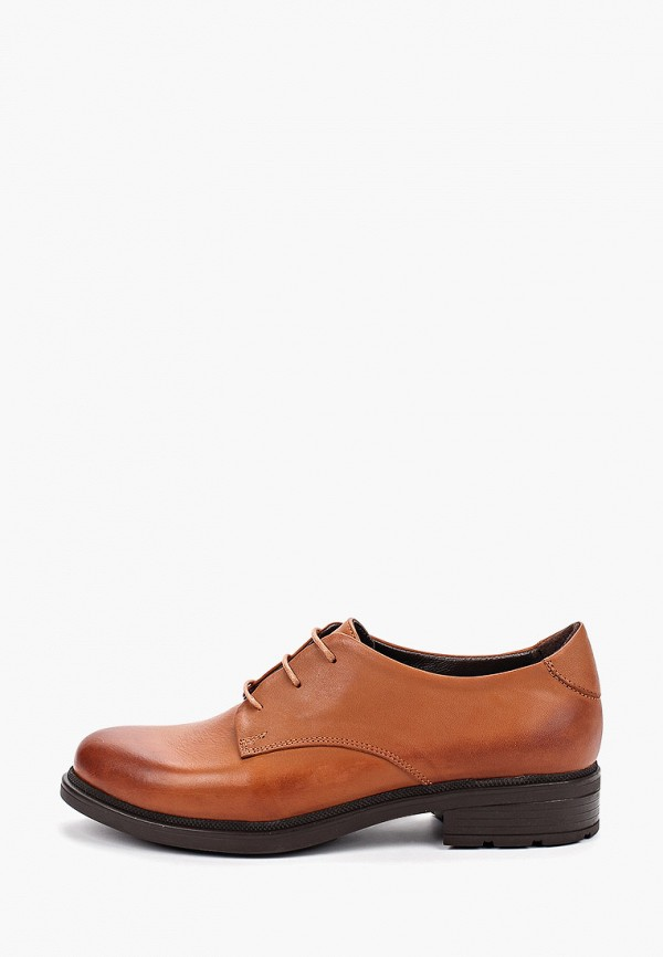 Pierre Cardin   коричневый Женские коричневые ботинки Pierre Cardin резина   Clouty