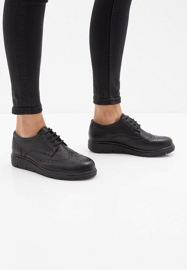 Airbox | черный Женские черные ботинки Airbox полимер | Clouty